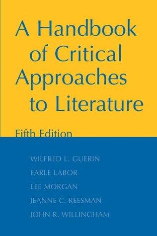 handbook of literary critcism