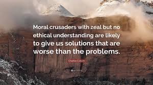 moral crusaders